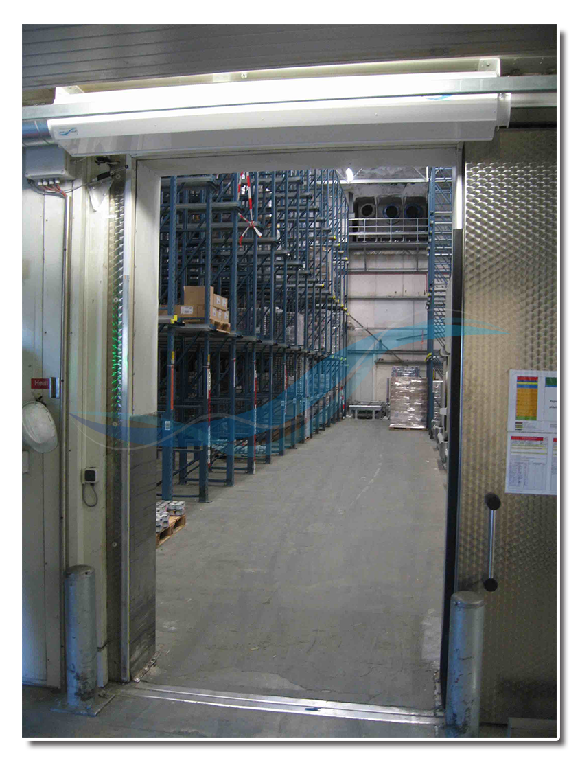 AFIM Air Door - strip curtain for cold storage, cold store, freezer (instead of high speed door)