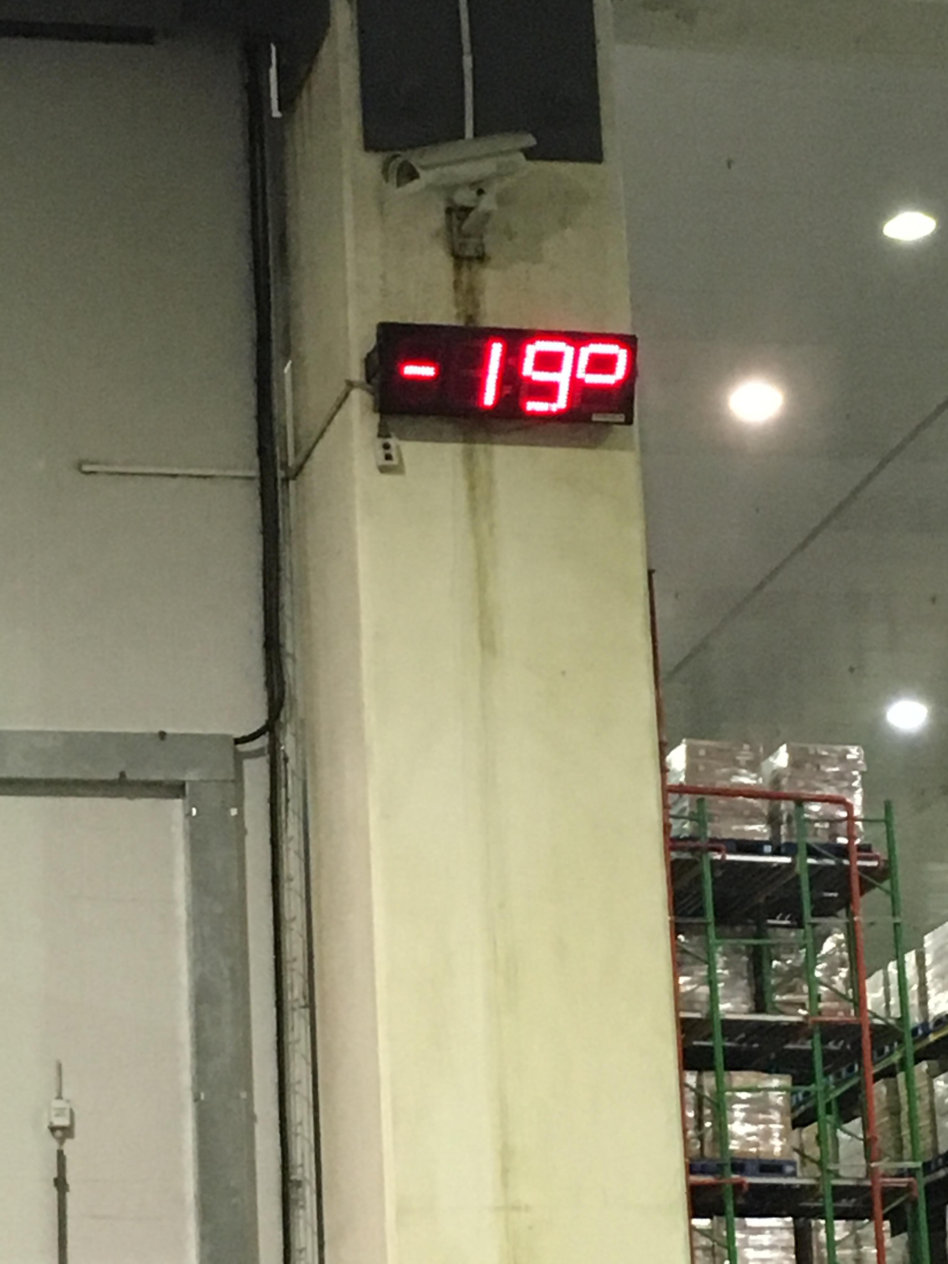 IGLO Luchtdeuren oplossing Spar Zuid Afrika temperatuur