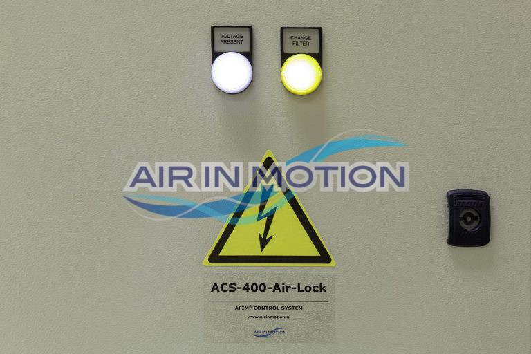 Control panel AFIM Air Shower
