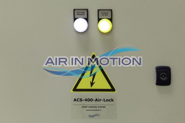Control panel AFIM Air Shower