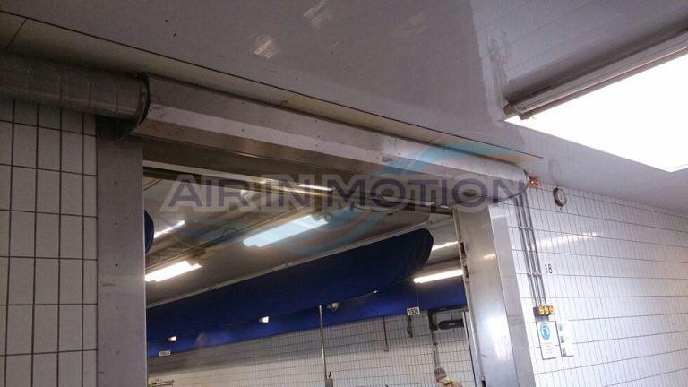 Industrial Air Doors : Industrial air curtain afim door reference person meat